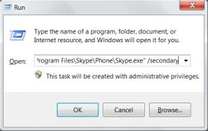 skype2 300x189 Как запустить два три Skype (Скайпа) на одном компьютере