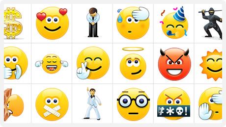 skype5.5.smiles Skype 5.5 для Windows. Новые Смайлики. Чат в Facebooke.